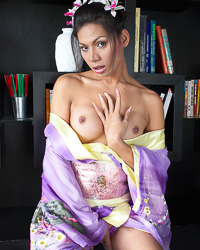 Tranny geisha.